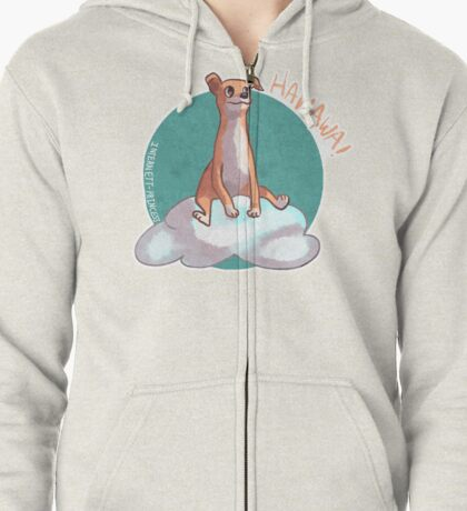 Dog of wisdom Zipped Hoodie