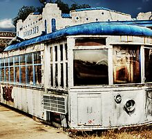 Trolley 373 Diner - West Texas by jphall