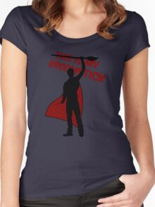 This is my broomstick Women's Fitted Scoop T-Shirt