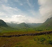 Low Cloud in Langdale by John Hare