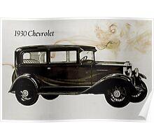 1930 Chevrolet Poster