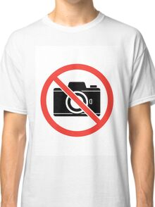 No Pictures Classic T-Shirt