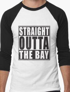Straight Outta The Bay Men's Baseball ¾ T-Shirt