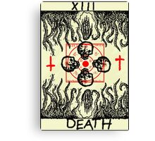 Tarot: Death Canvas Print