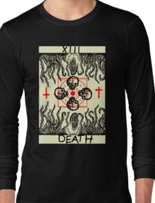Tarot: Death Long Sleeve T-Shirt