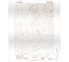 USGS Topo Map Oregon Tenmile Ranch 281771 1982 24000 Poster