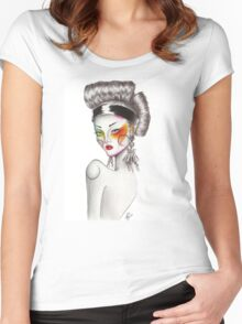 Geisha Women's Fitted Scoop T-Shirt