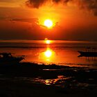 Golden Sunrise-Bali by neverforgotten