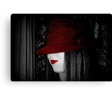 That hat Canvas Print