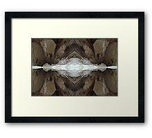 My Cave art 25 Framed Print