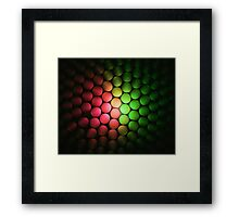 Red & Green Should Never Be Seen - Abstract Framed Print