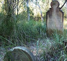 Castlereagh Cemetery, Isabella Evans  by DashTravels