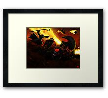 PART 23 - The Pawn Spawn Attacks! Framed Print