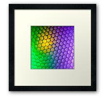 Straws of the Rainbow  Framed Print