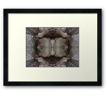 My Cave art 34 ,, Calls the spirit,,, Framed Print