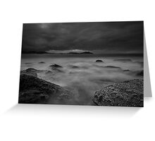 Terrigal at 30 seconds Greeting Card