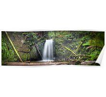 Waterfall Wonderland Panorama Poster