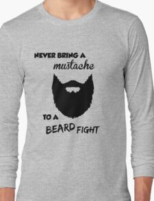 Funny Bearded Shirt Long Sleeve T-Shirt
