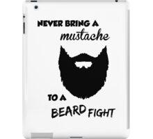 Funny Bearded Shirt iPad Case/Skin