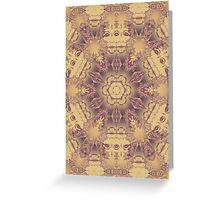 mask mandala Greeting Card