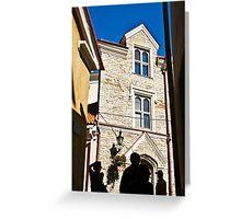 Tallinn. Old Town. Greeting Card
