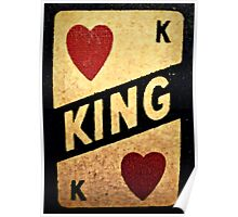 king of hearts: vintage poker machine Poster