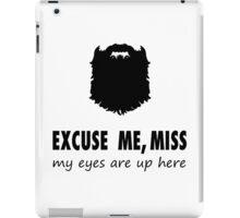 Funny Beard-ed Shirt iPad Case/Skin