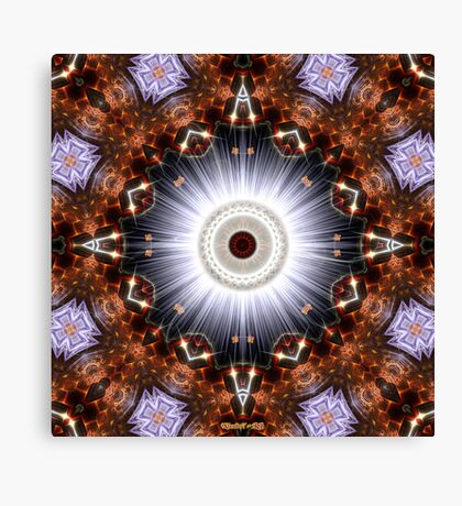 Brilliance - The Eye Of Comtos Canvas Print