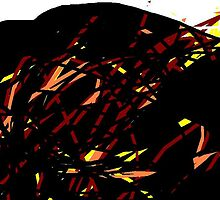 female head/Salutation to the dawn! -(200711)- digital artwork/ms paint by paulramnora