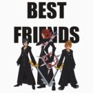 """Axel, Roxas and Xion """"Best Friends"""" by Ewing24601"""