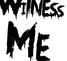 Witness Me by Sam Whitelaw