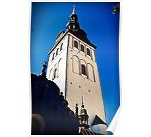 Tallinn. Old town. Poster