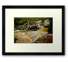 Bottom Falls.20-7-11. Framed Print