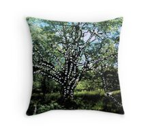 Power, connection and growth Throw Pillow