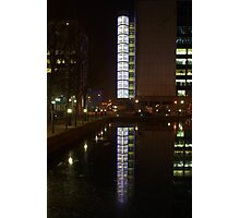 Reflections in the docks. Photographic Print