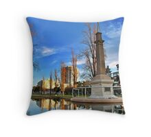 Light Square... Adelaide Throw Pillow