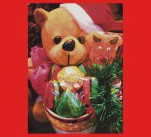 Merry X'mas Teddy Bear Kids Clothes
