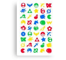 Smash Logo Print Poster Canvas Print