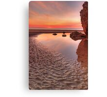 Dripstone Reflections Canvas Print