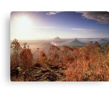 Glasshouse Mountains Lookout Canvas Print