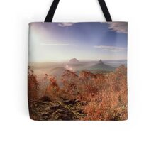 Glasshouse Mountains Lookout Tote Bag