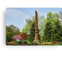 Chief Woapalanee Welcoming Spring Canvas Print