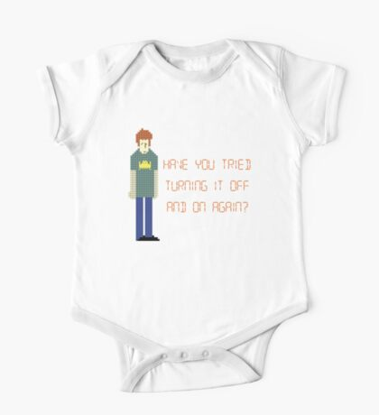 The IT Crowd – Have You Tried…? One Piece - Short Sleeve