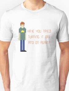 The IT Crowd – Have You Tried…? T-Shirt