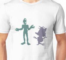"""I dunno"" - Oddworld Abe & Munch Unisex T-Shirt"