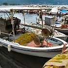 THASSOS WORKING BOATS.2 by ronsaunders47