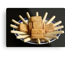 Don't say biscuits, say *Chocolate* biscuits Metal Print