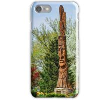 Chief Woapalanee Welcoming Spring iPhone Case/Skin