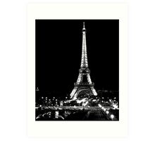 Le Torre Eiffel Art Print