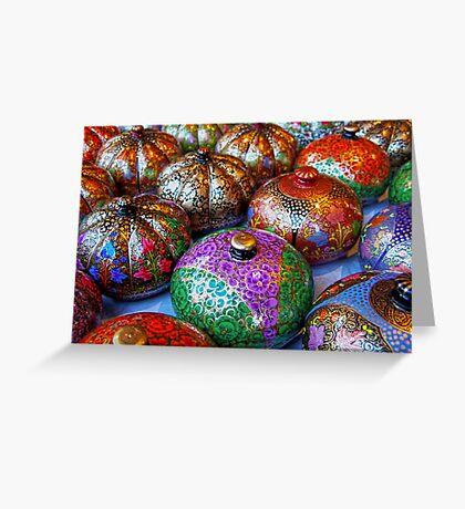 Riot of Colors Greeting Card